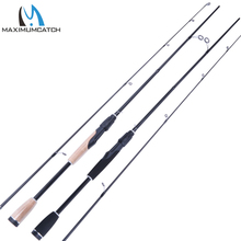 Maximumcatch Spinning Rod 1.95M/2.10M 2 Pieces Fishing Rod Lure Weight 1/8-3/8OZ Fishing Spinning Rod