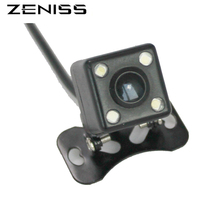 Zeniss Universal Car Rearview Camera Chamber for CAR DVD Player Reverse backup Chamber Camera with led nightvision waterproof
