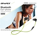 AWEI A990BL Bluetooth 4.0 Earphone Bluetooth Stereo Earphone Wireless Sport Wire Control Headphone Noise Isolation with Mic