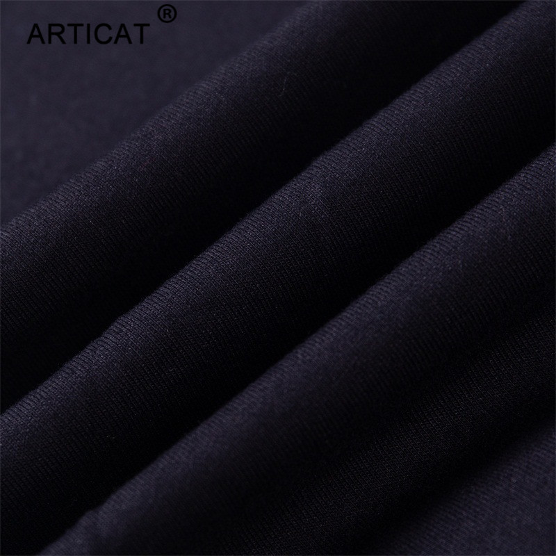 Articat Off Shoulder Sexy Crop Top Women Tracksuit Two Piece Side Stripe Short Autumn Tops Long Pants Casual Fitness Sportswear 6