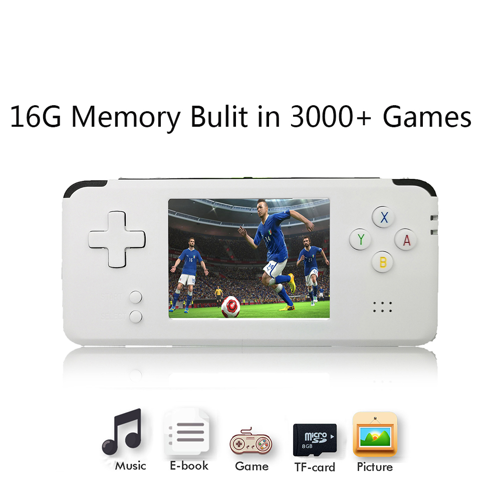 2018 Portable Video Handheld Game Console Retro 64 Bit 3 Inch 3000 Video Game Retro Handheld Console to TV RS-97 RETRO-GANE 08 цена