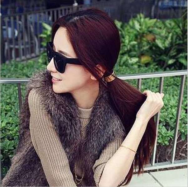 Astonishing Online Get Cheap Cool Ponytails Aliexpress Com Alibaba Group Hairstyle Inspiration Daily Dogsangcom