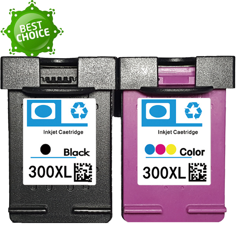 300XL EU ES Ink Cartridges 300 xl cartridge for HP Deskjet D1660 D2560 D5560 F2420 F2480 F2492 F4210 F4280 Printers