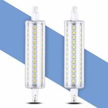 R7S LED 118mm Lamp Corn Bulb 78mm G9 LED Tube Light 220V 5W 10W 12W 15W Replace Halogen LED Lamp 135mm 220V Home Lighting 189mm
