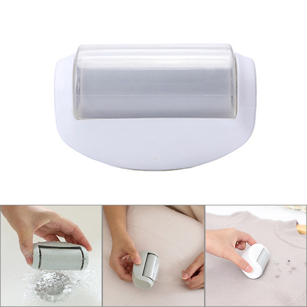 Portable Fast Fit Sticky Roller Lint Fluff Pet Hair Remover Mini Travel Roller