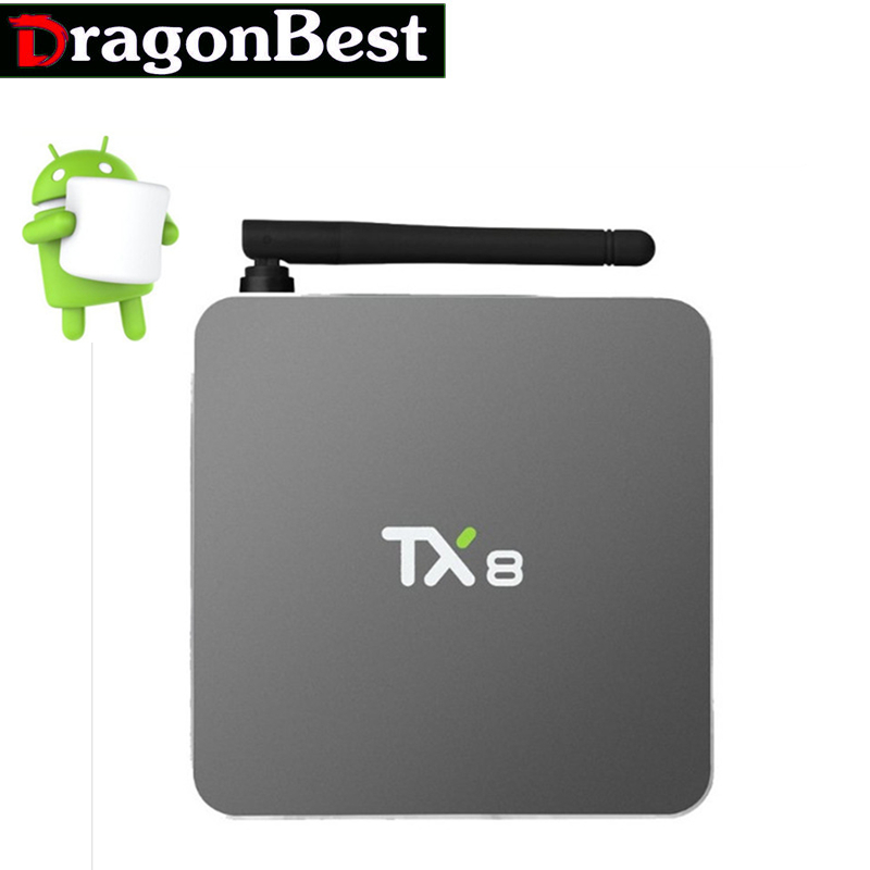 Android 6.0 Amlogic S912 Octa core Set top box 2G 32G Android TV Box HDMI H.265 WIFI Media Player Smart tv box New 5PCS New TX8 10pcs lot new csa90 andriod 5 1 smart tv box octa core rk3368 2g 16g 4k hdmi 2 0 with remotecontrol