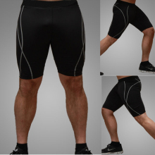 New Hot Men Tight Shorts Breathable Quick Dry Bodybuilding Fitness Skin Tights Male Brand Shorts
