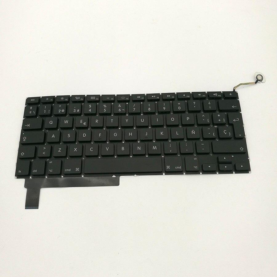 5 pcs Laptop Spain Spanish Keyboard For Macbook Pro 15 A1286 2009-2012 великие реки гладкая 2
