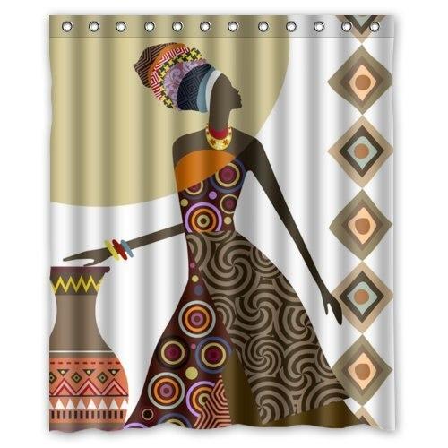 achetez en gros rideaux de style africain en ligne des grossistes rideaux de style africain. Black Bedroom Furniture Sets. Home Design Ideas