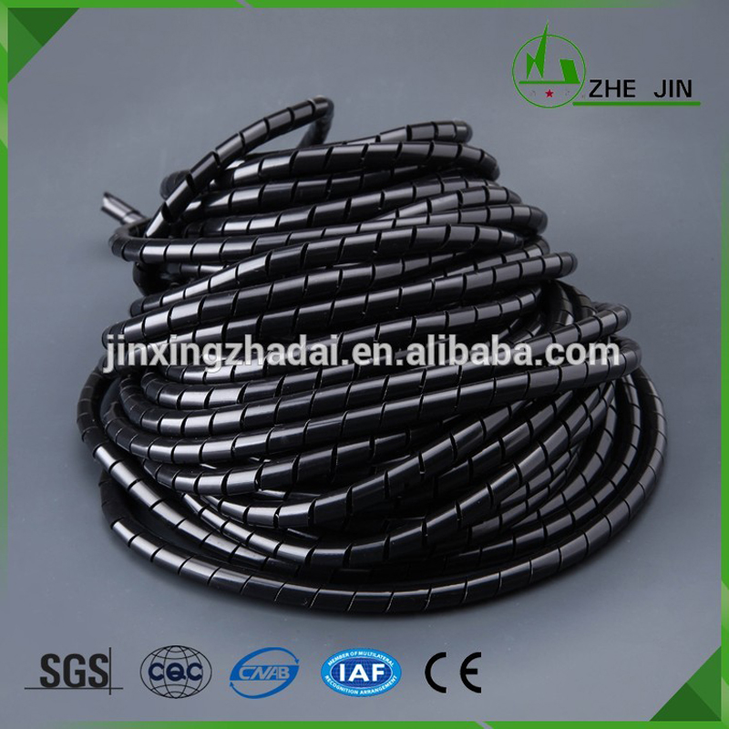 Zhe Jin SW04 dia 4mm 25M Cable Casing Cable Sleeves Winding Pipe Spiral Cable Protector Wrapping Bands