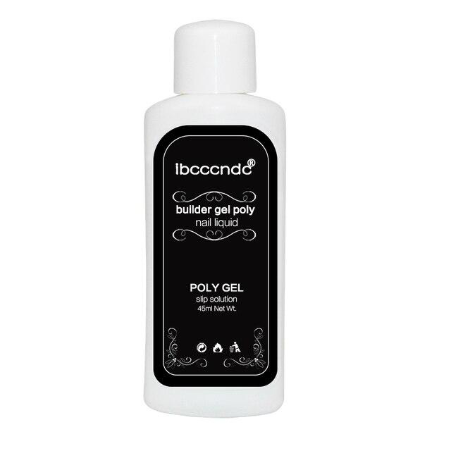 Ibcccndc 45 ml פולי ג 'ל ציפורניים נוזלי סט לכה Silp פתרון חסר ריח אלכוהול תחליפים PolyGel ערכת לק ג' ל לכה