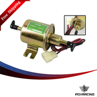 PQY RACING Free Shipping BJ HEP 002 High Qulity 12V Electric Fuel Pump For Car Carburetor