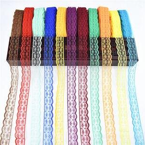Лидер продаж, 10 ярдов, кружевная лента шириной 22 мм, африканская роскошная кружевная ткань, сделай сам, вышитая сетка, аксессуары для одежды, ...