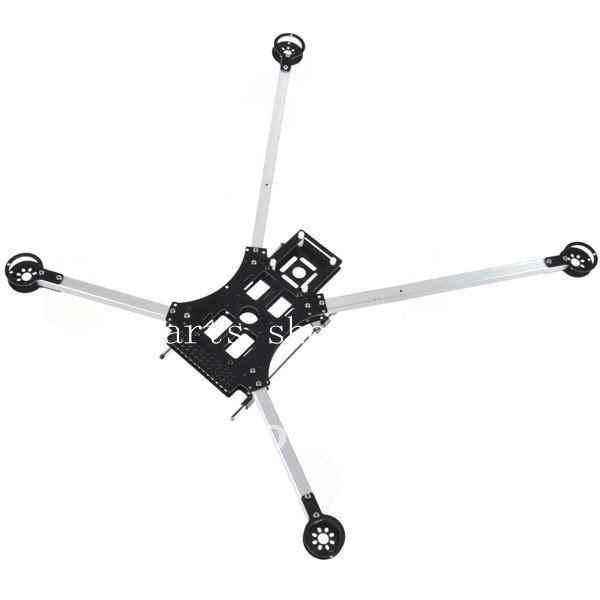 الألياف الزجاجية العنكبوت نمط الإطار 635mm X4 x650 Quadcopter متعدد المروحية QuadX 240g شحن مجاني