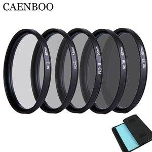 Image 1 - Caenboo 49 ملليمتر عدسة nd تصفية nd2 4 8 عدسة حامي محايد الكثافة 52 ملليمتر nd16 nd32 عدسة مرشح حقيبة لكانون نيكون كاميرا dsrl