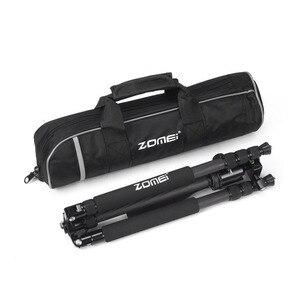 Image 5 - Zomei Z818C Carbon fiber Professional Travel Portable Camera Tripod Ball Head Tripod Stand for Canon Nikon SLR DSLR camera