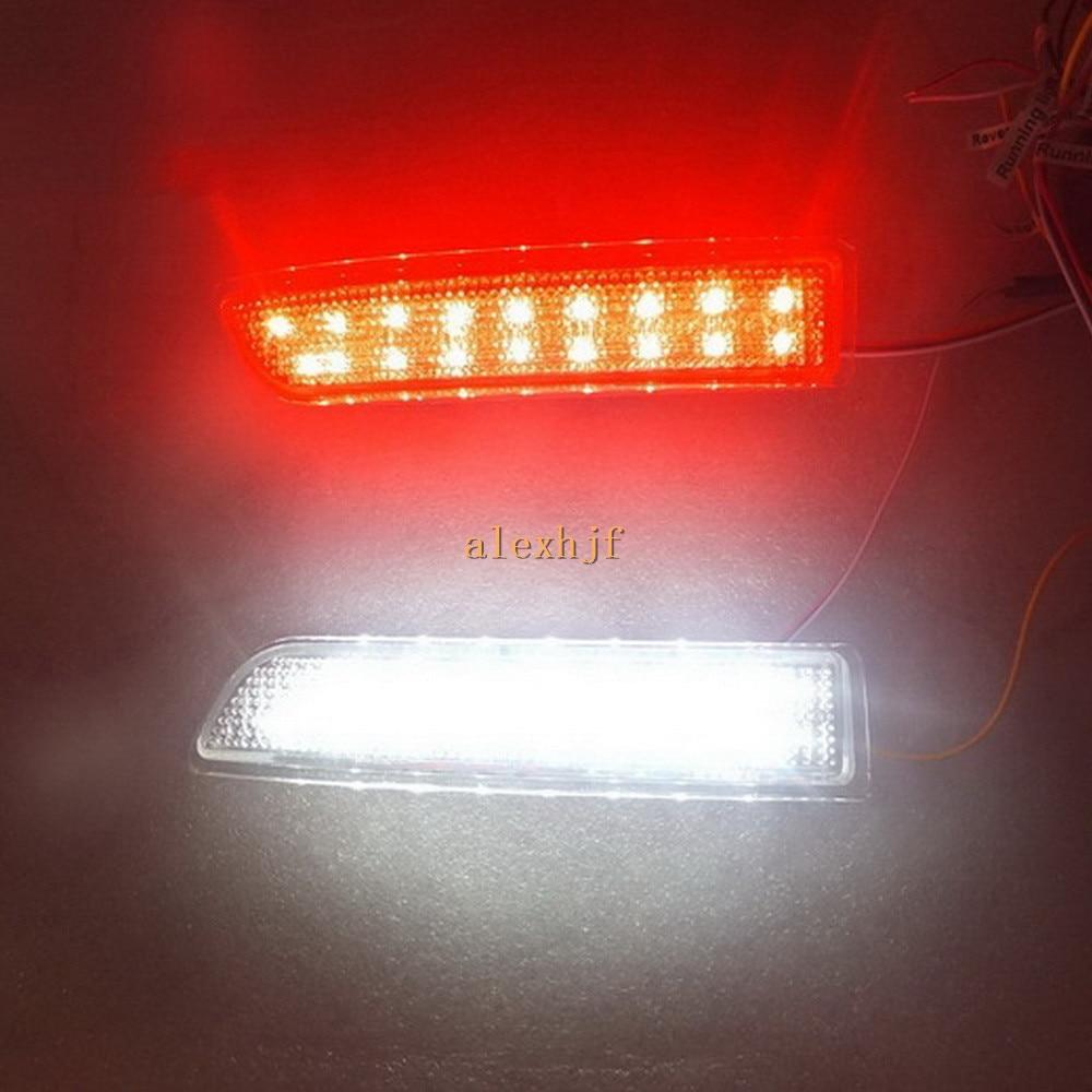 Հինգշաբթի King 15 White LEDs + 18 Red LEDs / pc - Ավտոմեքենայի լույսեր - Լուսանկար 2