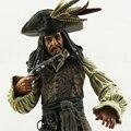 NECA оригинальные объемные пираты карибского моря старый капитан джек аксессуары оружия 8 cun 20 см модель Капитан джек воробей