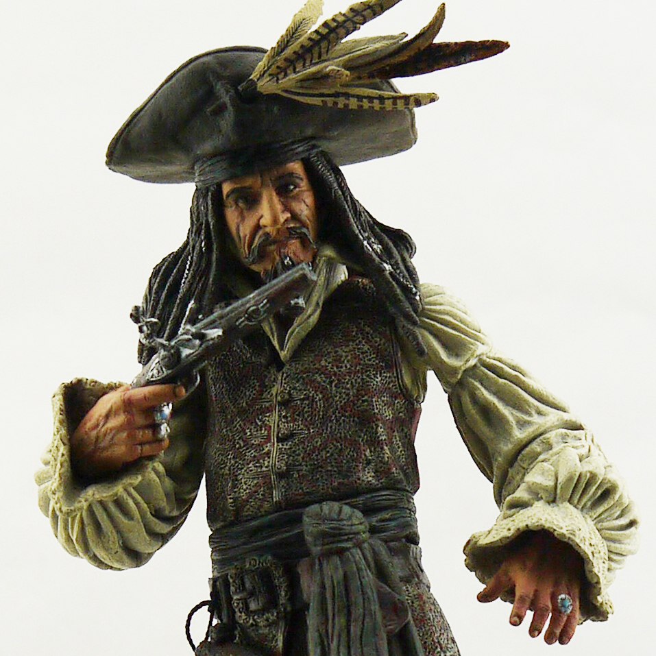 NECA the original bulk Pirates of the Caribbean old captain jack weapon accessories 8 cun 20 cm model Captain jack sparrow the edge chronicles 7 the last of the sky pirates