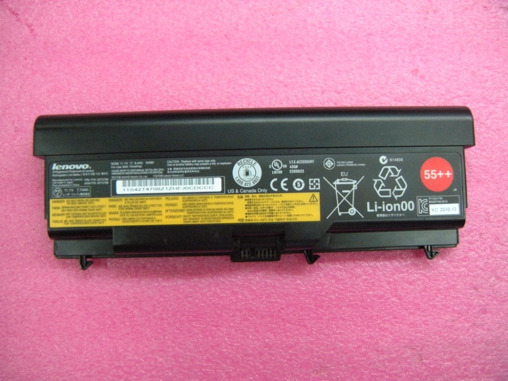 New Original Laptop Battery for Lenovo ThinkPad E40 E50 E420 E520 SL410 SL510 T410 T510 T420 T520 W510 W520 L410 L420 L510 L520 jigu original laptop battery for lenovo for thinkpad sl400 sl410 sl410k sl500 sl510 t410 t410i t420 t420i t520 w510 w520