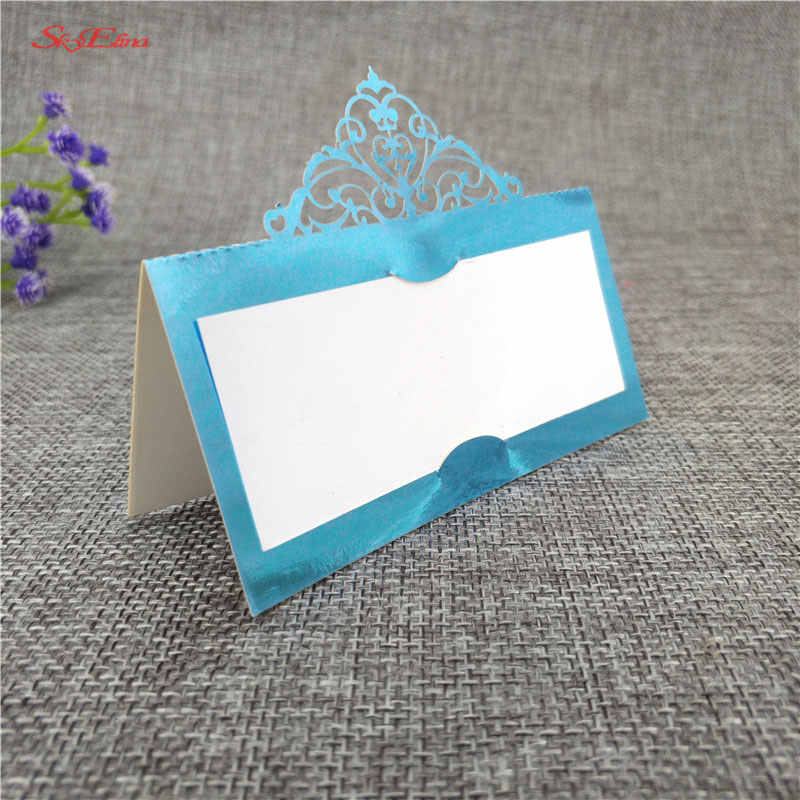10pcs table card Party Table Name Guest Place Cards Name card Wedding Supplies Seating Decoration Wedding Invitations 6Z-SH873