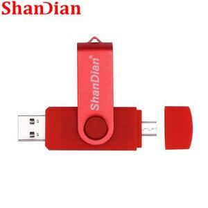 SHANDIAN Nova usb 2.0 flash usb otg for smartphone/tablet/pc 8 gb 16 gb 32 gb 64 gb pendrives pen drive