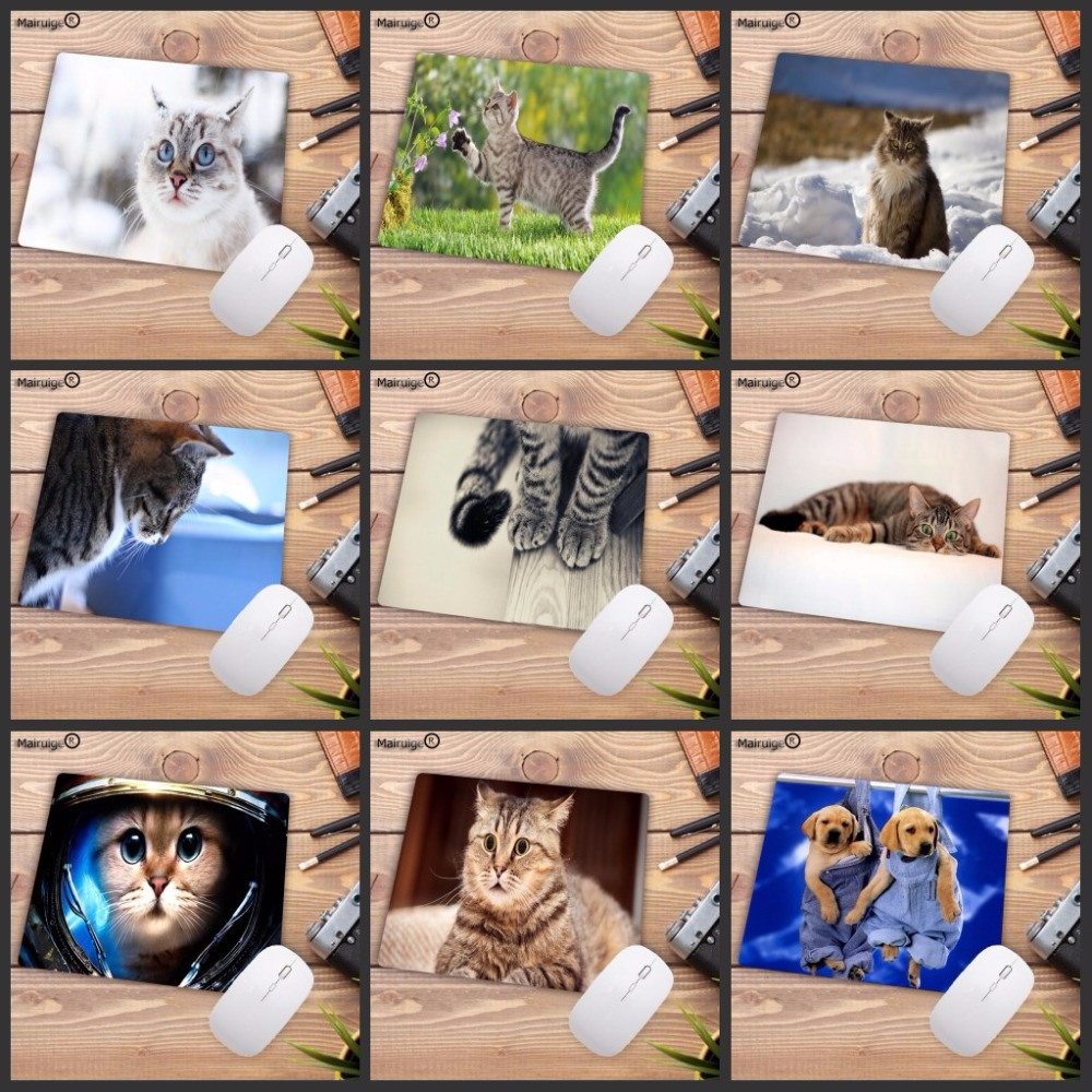 Mairuige Cute Cat Dog Animal Promotion 220*180*2MM Computer Gaming Mouse Pad Mousepads Decorate Your Desk Non-Skid Rubber Pad