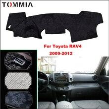цена на Tommia Car Dashboard Cover Mat Light Avoid Pad Photophobism Anti-slip protection Mat For Toyota RAV4 2009-2012