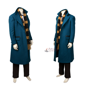 Image 2 - New Fantastic Beasts and Where to Find  Them Newt  Scamander Cosplay Costumes high quality custom made