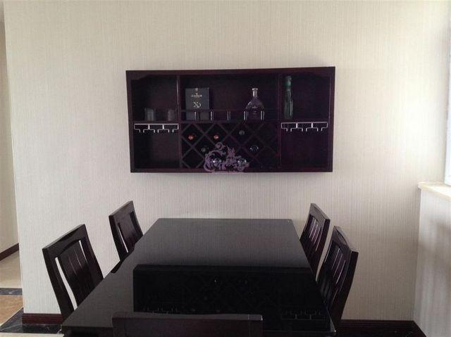 Wood Wine Rack Cooler Wall Mounted