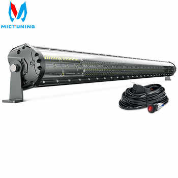 Latest 52 Inch 4-Row LED Light Bar Magical M2 Aerodynamic Off Road Driving Work Light for Jeep ATV Truck Boat - DISCOUNT ITEM  40% OFF All Category