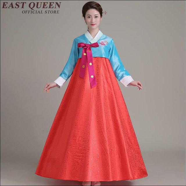 e84ec2e33c 2016 Fashion Korean Traditional Dress Embroider Women Hanbok Korean Dress  Ancient Clothes Luxury Korean Hanbok AA1561-in Asia & Pacific Islands ...