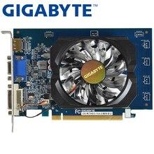 Оригинальная Видеокарта GIGABYTE GT730 1GB SDDR3, видеокарты для игр nVIDIA Geforce GPU, используемые карты Dvi VGA GT630 710