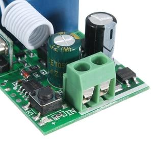 Image 4 - Leory inteligente sem fio rf controle remoto receptor dc 12v 220v 10a 1 ch 315/433mhz interruptor de relé melhor