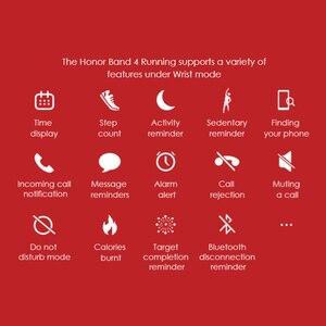 Image 2 - Originale Huawei Honor Fascia 4 Corsa E Jogging Versione Intelligente Wristband Scarpe Fibbia Land Impatto Sonno Snap Monitor
