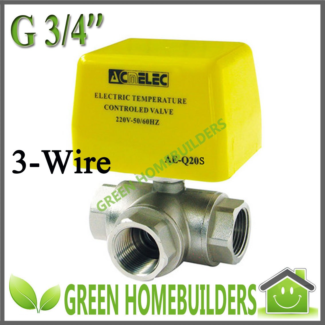 Ae Q20 3 Wire Three Way Motorised Ball Valve 220v 240v Ac 24v Wiring Diagram 110v 120v Available On Alibaba Group