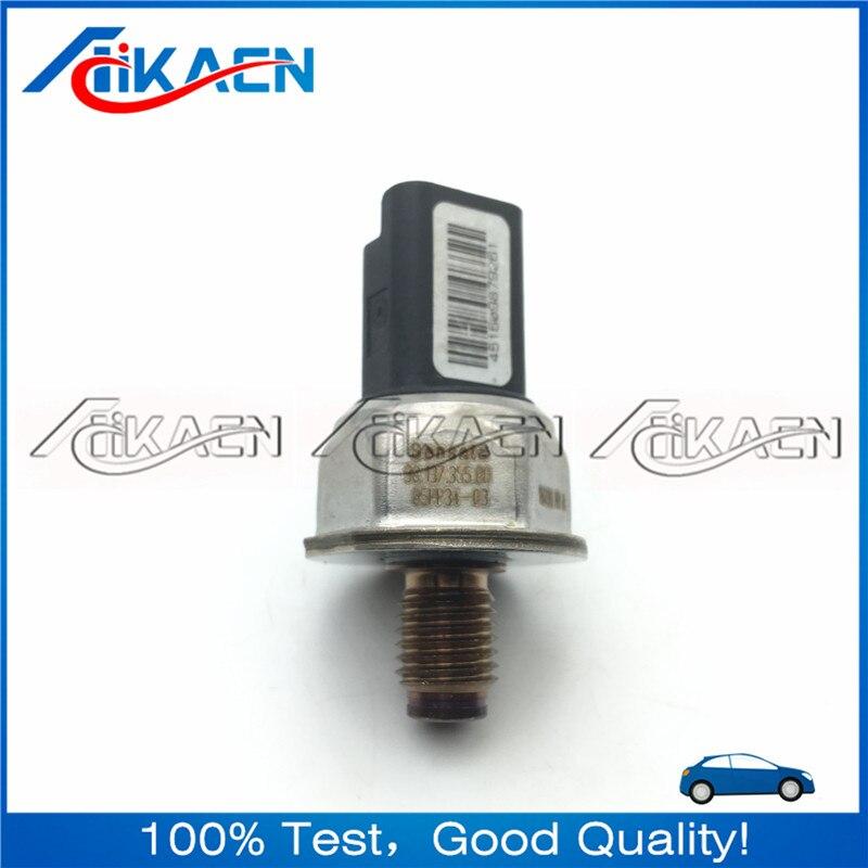 Otomobiller ve Motosikletler'ten Basınç Sensörü'de Orijinal Yakıt Dağıtım Borusu Basınç Sensörü 85PP34 03 9813735580 98.136.355.80 title=