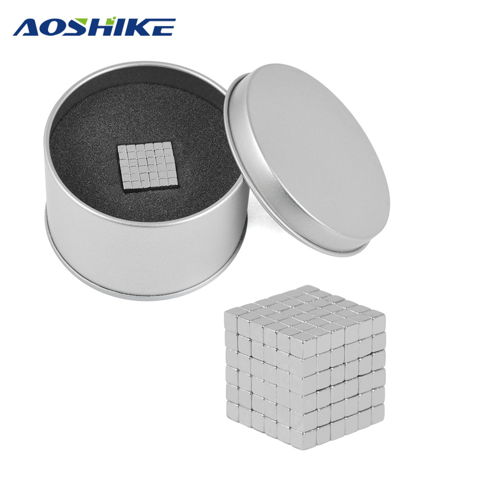 216pcs/pack 3*3*3mm square neodymium magnet Magnetic Strong NdFeB imanes DIY Buck Neo Cubes Puzzle Magnets qs 3mm216a diy 3mm round neodymium magnets golden 216 pcs page 9