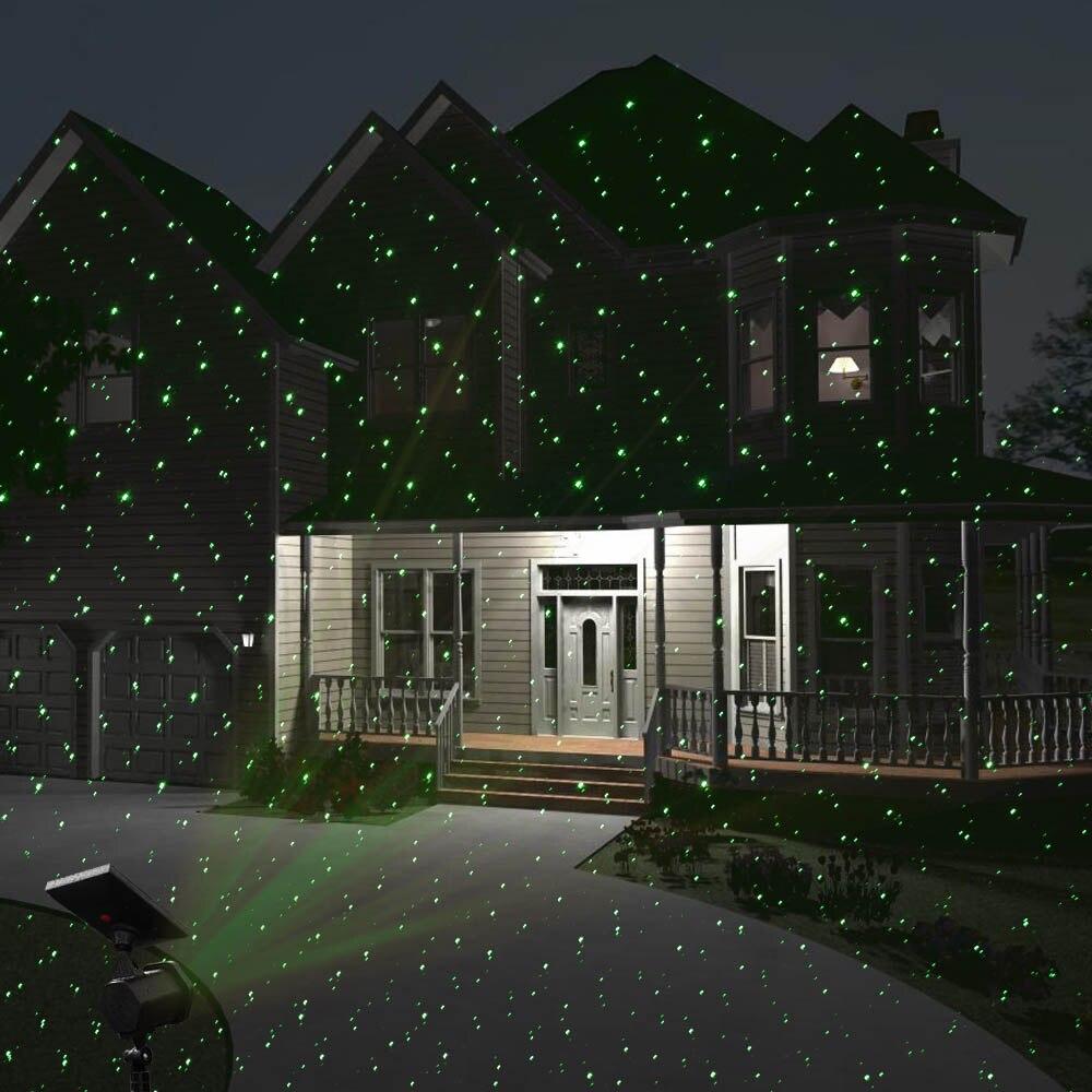 Holigoo Solarbetriebene Laser Licht Im Freien Wasserdichte ...