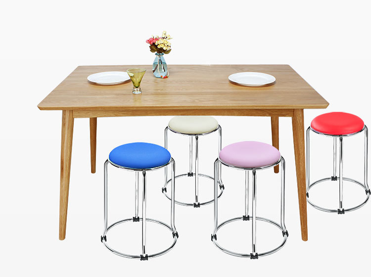 Park bench with stools Furniture chairs wholesale and retail Property Management Office Tea Stool