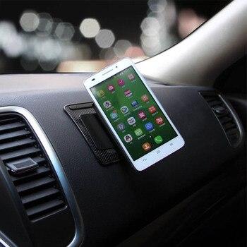 Car Ornament Silicone 360 Rotating Phone Holder Non-Slip Mat Automobile Dashboard Adjustable Angle Anti Slip Mat Car Gadget 1