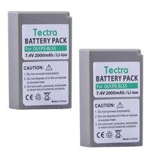 Tectra 2 PCS PS BLS-50 BLS5 Bateria Li-ion para Olympus PS-BLS5 OM-D E-M10 PEN E-PM2 E-PL5 E-PL6 E-PL2 E-PL7 E-M10 II Stylus1
