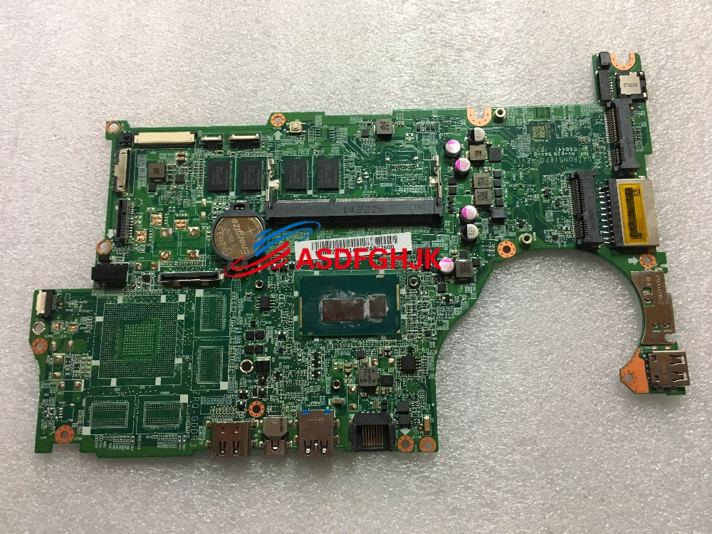 NBMP211001 DAZRQMB18F0 FOR font b Acer b font Aspire M5 583P LAPTOP MOTHERBOARD WITH I5 4210U
