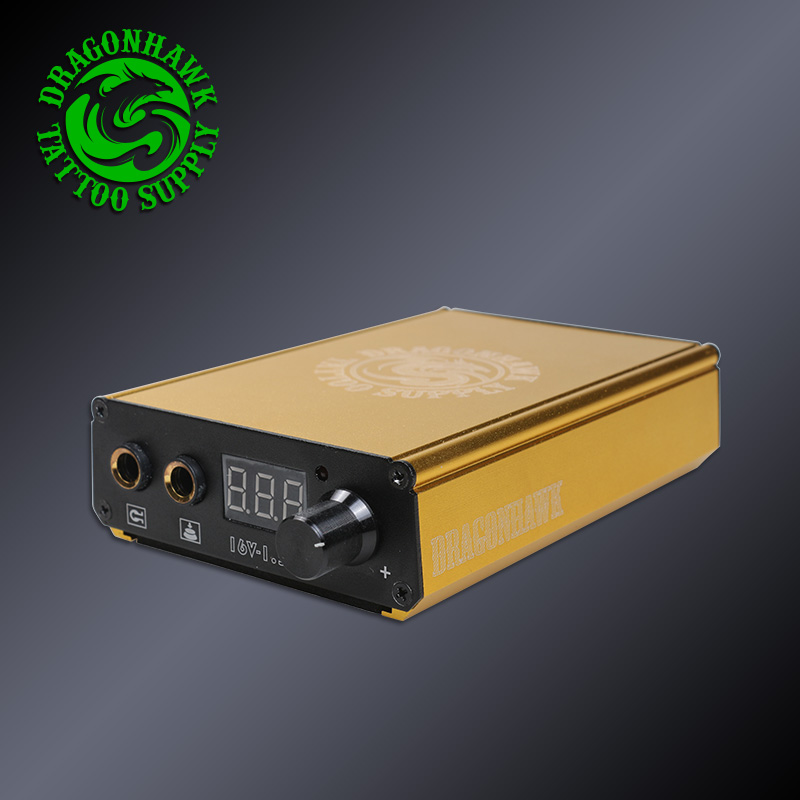 Fashion Design LCD Battery Charger Power Box Dual USB For Tattoo Machine And Phone Power Supply