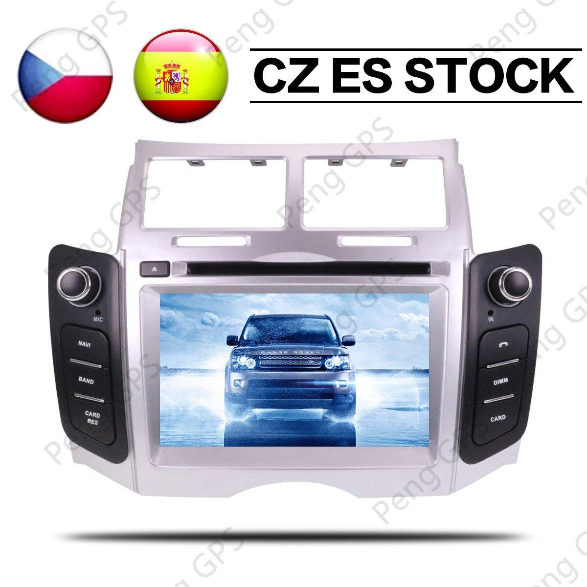 hete korting android 9 0 auto dvd stereo multimedia autoradio voor toyota yaris 2005 2007 2011. Black Bedroom Furniture Sets. Home Design Ideas