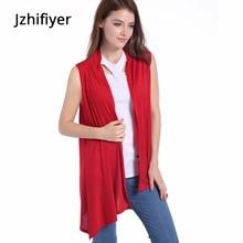 women cardigan sleeveless vest thin plain outerwear spring fall feminino mujer jaqueta feminina chaquetas invierno