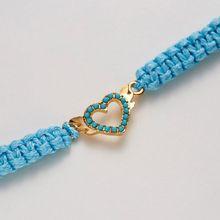 Green Friendship Sea Turtle Charm Handmade Weave Rope Blue Bracelets