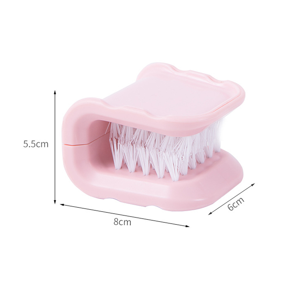 Image 4 - 1pcs ABS Multifunctional Cleaning Brush Dish Washing Scrubber Kitchen Household Brush Tools for Knife Pots Chopstick Cleaning-in Cleaning Brushes from Home & Garden