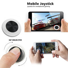 Ultra-thin Touch Screen Mobile Phone Joystick for iOS phones for Android Phones Arcade Games Controller Touch Joystick Mini(China)