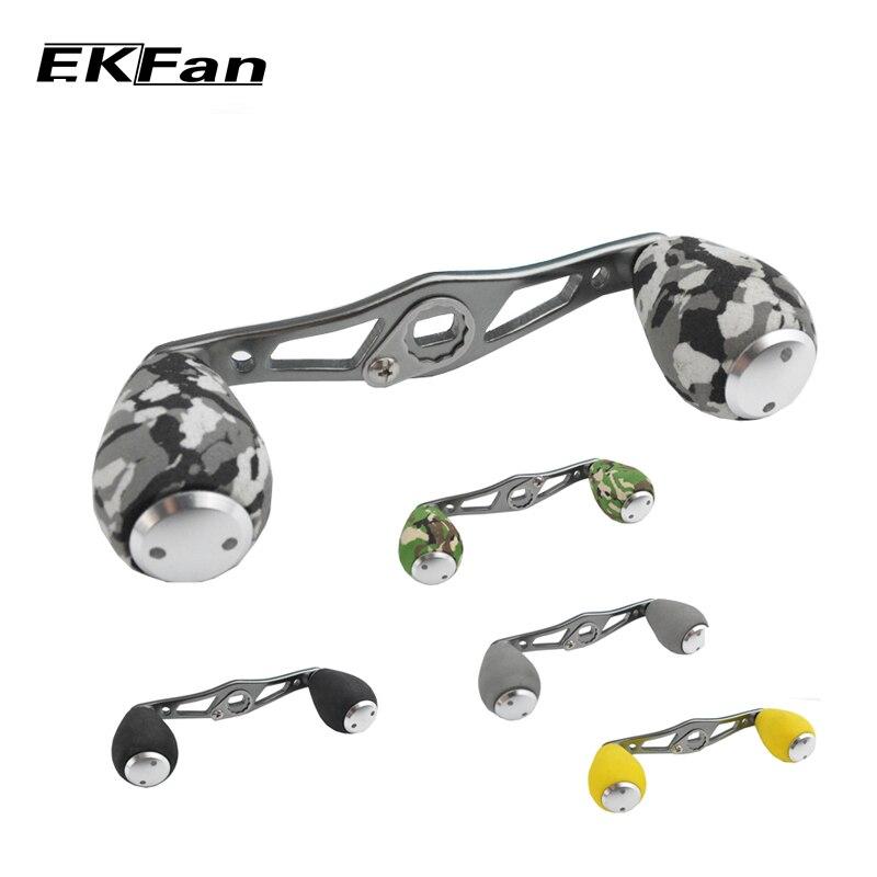 Ekfan stainless steel fishing reel handle eva knobs for for Reel steel fishing
